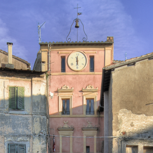 Capena's medieval clock tower