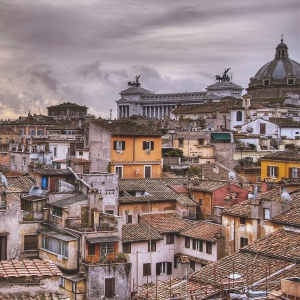 Rooftops of Rome