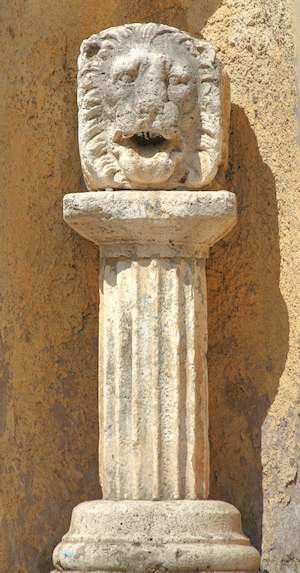The lion of Capena